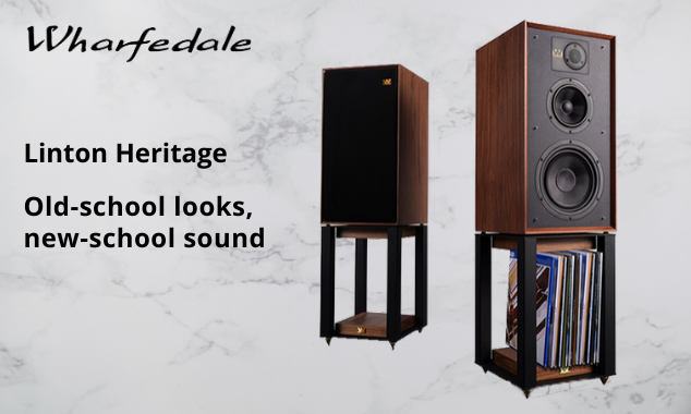 Wharfedale Linton Heritage: Old-school looks, new-school sound