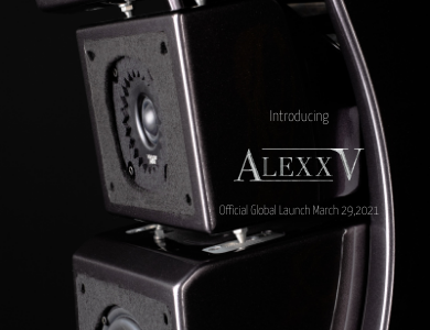 Wilson Audio apresenta as novas Alexx V™!!