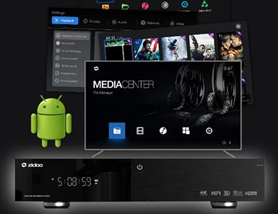 ZIDOO - 4K Media Player